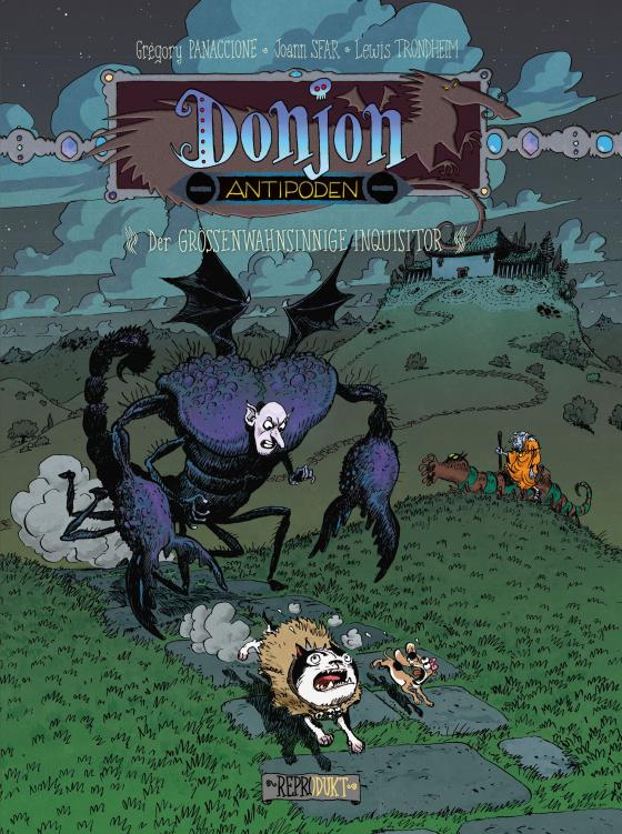 Cover-Bild Donjon Antipoden -9.999