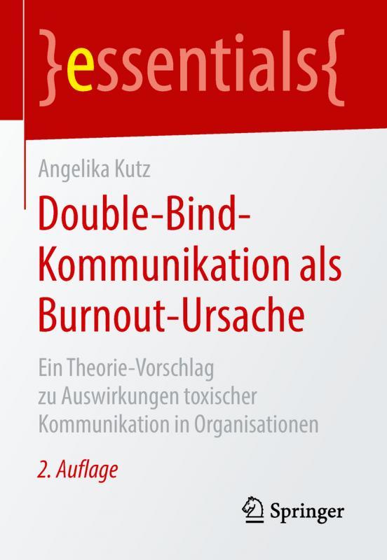 Cover-Bild Double-Bind-Kommunikation als Burnout-Ursache