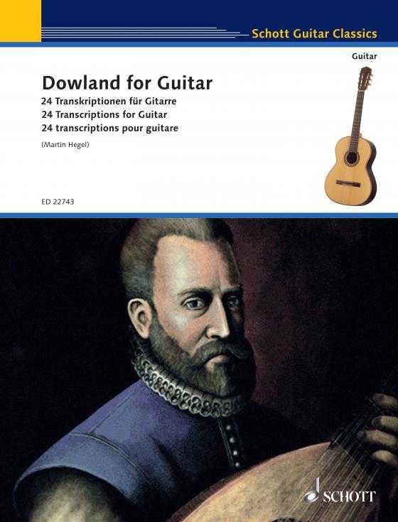 Cover-Bild Dowland for Guitar