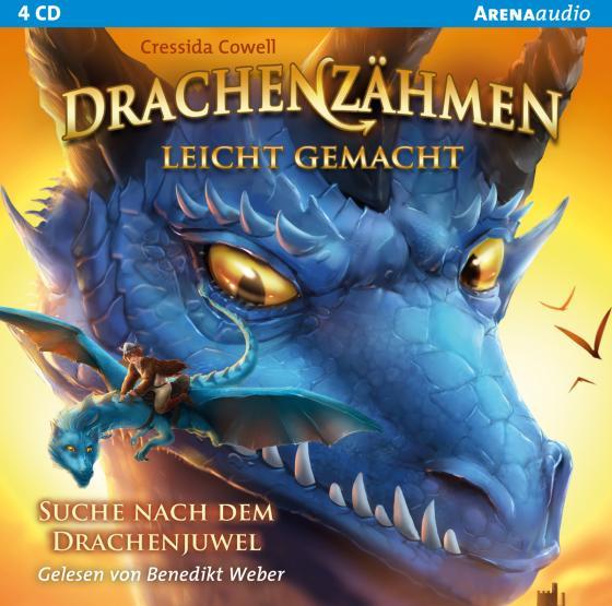 Cover-Bild Drachenzähmen leicht gemacht (10). Suche nach dem Drachenjuwel