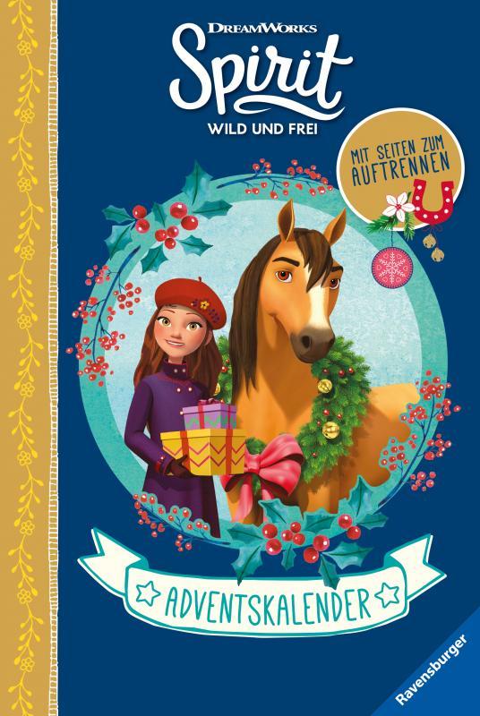Cover-Bild Dreamworks Spirit Wild und Frei: Adventskalender