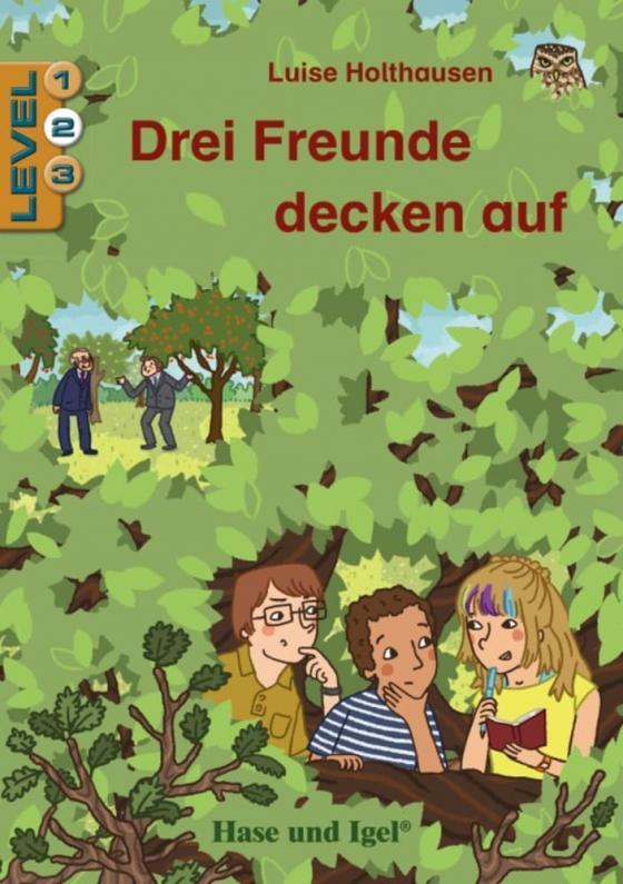 Cover-Bild Drei Freunde decken auf / Level 2