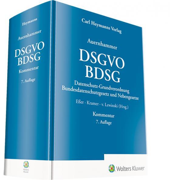 Cover-Bild DSGVO/ BDSG