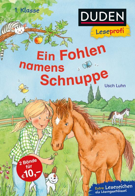 Cover-Bild Duden Leseprofi – Ein Fohlen namens Schnuppe, 1. Klasse