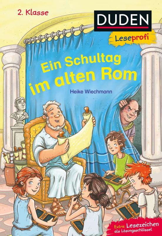 Cover-Bild Duden Leseprofi – Ein Schultag im alten Rom, 2. Klasse