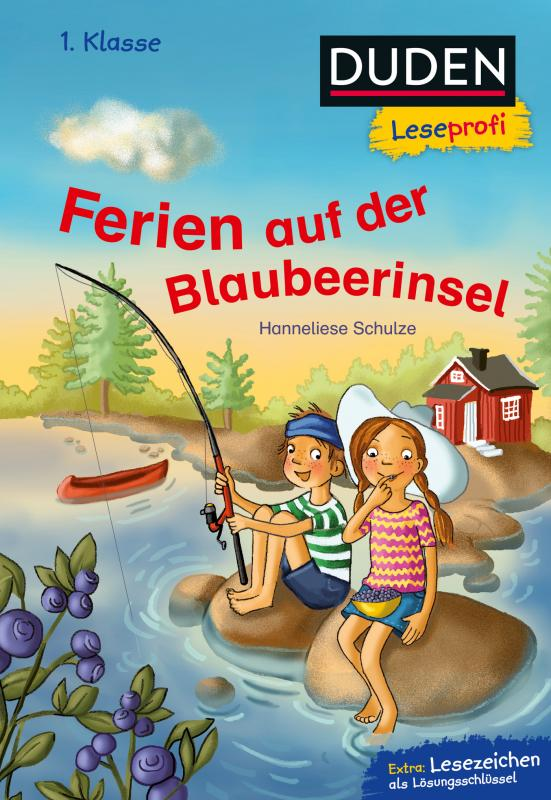 Cover-Bild Duden Leseprofi – Ferien auf der Blaubeerinsel, 1. Klasse
