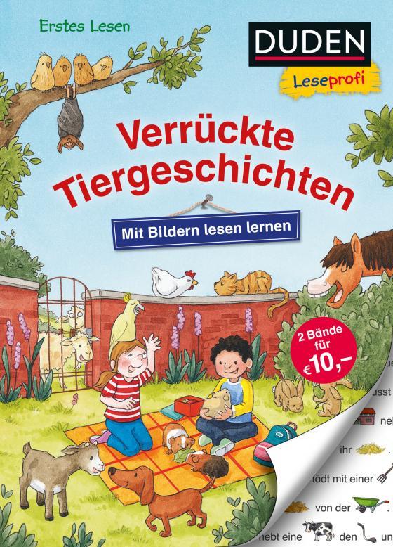 Cover-Bild Duden Leseprofi – Mit Bildern lesen lernen: Verrückte Tiergeschichten