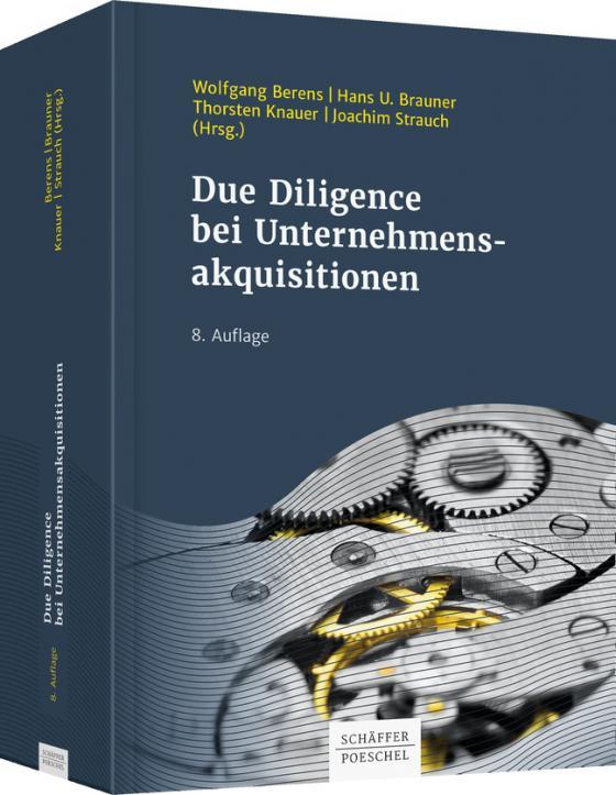 Cover-Bild Due Diligence bei Unternehmensakquisitionen
