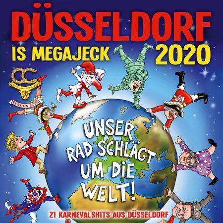 Cover-Bild Düsseldorf is megajeck 2020