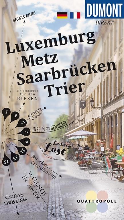 Cover-Bild DuMont Direkt Luxemburg, Metz, Saarbrücken, Trier
