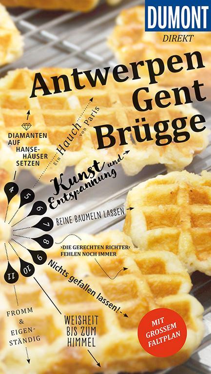 Cover-Bild DuMont direkt Reiseführer Antwerpen, Gent, Brügge