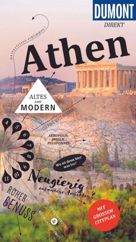 Cover-Bild DuMont direkt Reiseführer Athen