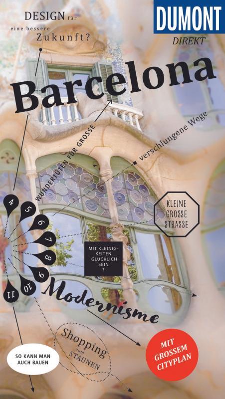 Cover-Bild DuMont direkt Reiseführer Barcelona