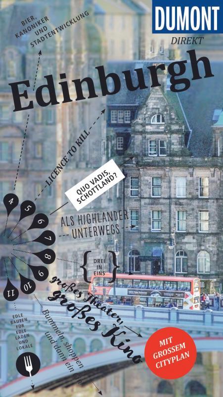 Cover-Bild DuMont direkt Reiseführer Edinburgh