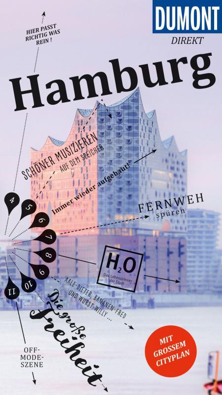 Cover-Bild DuMont direkt Reiseführer Hamburg