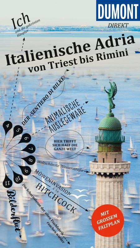 Cover-Bild DuMont direkt Reiseführer Italienische Adria