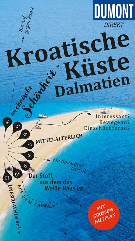 Cover-Bild DuMont direkt Reiseführer Kroatische Küste Dalmatien