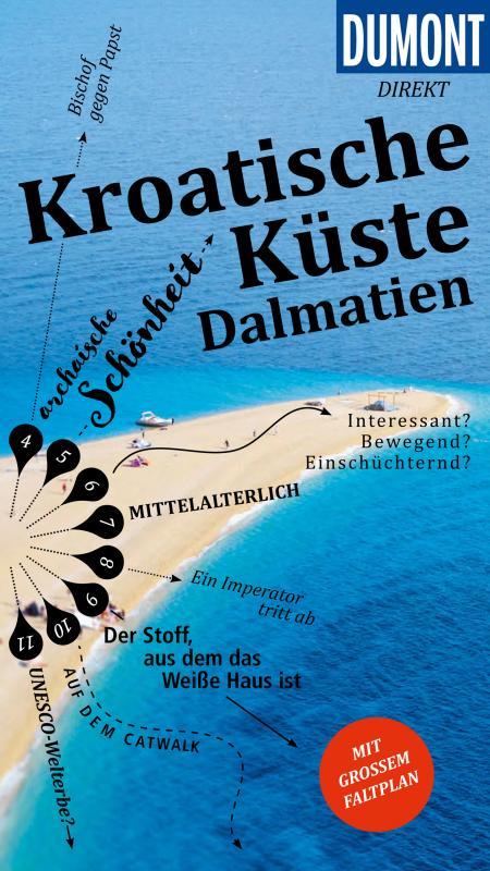 Cover-Bild DuMont direkt Reiseführer Kroatische Küste, Dalmatien