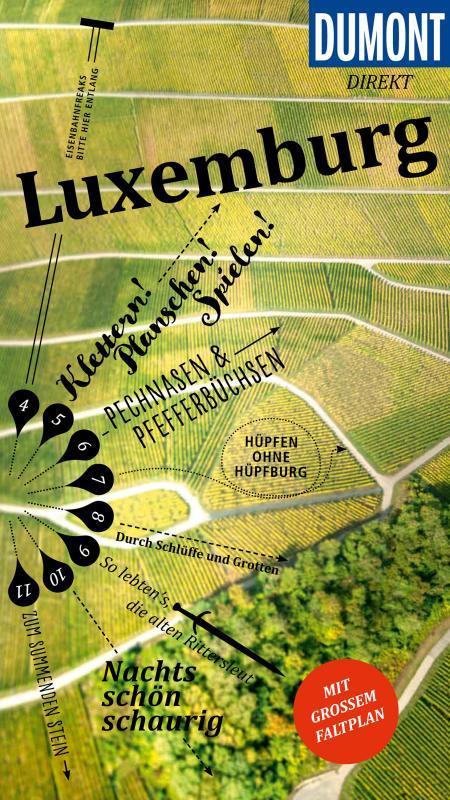 Cover-Bild DuMont direkt Reiseführer Luxemburg