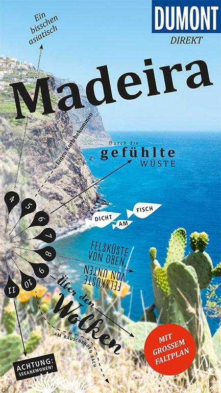 Cover-Bild DuMont direkt Reiseführer Madeira
