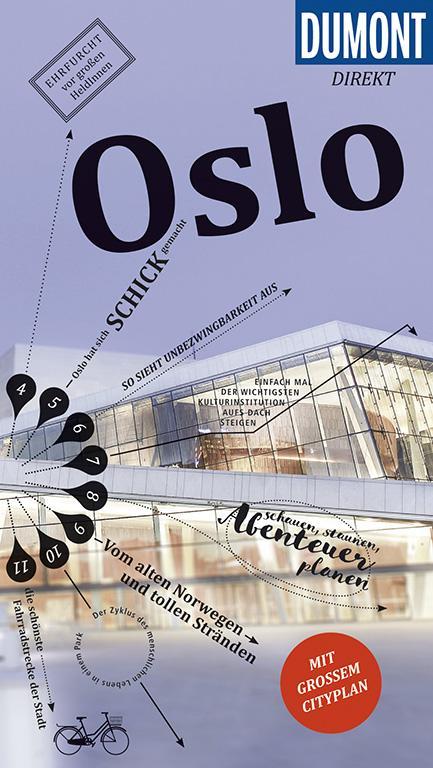 Cover-Bild DuMont direkt Reiseführer Oslo