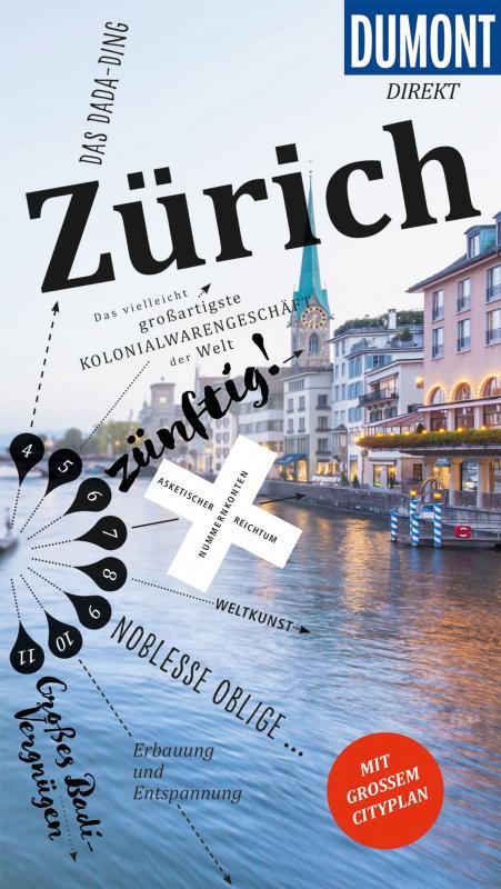 Cover-Bild DuMont direkt Reiseführer Zürich