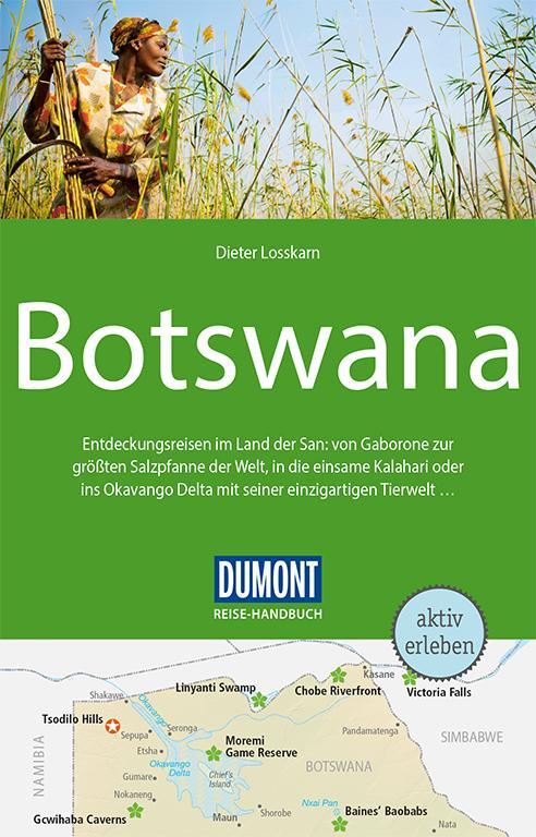 Cover-Bild DuMont Reise-Handbuch Reiseführer Botswana