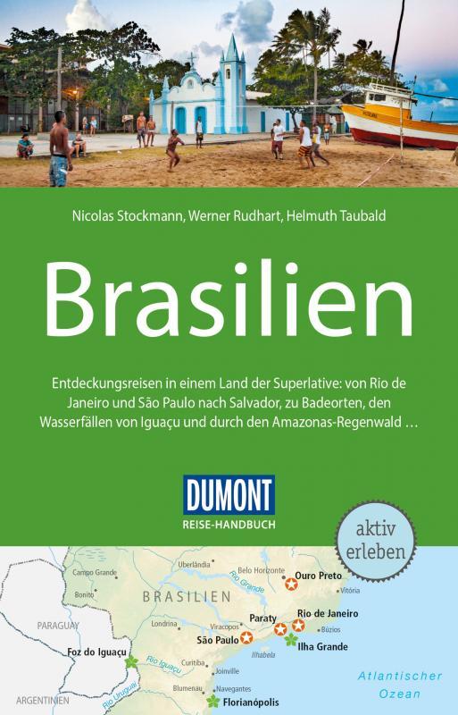 Cover-Bild DuMont Reise-Handbuch Reiseführer Brasilien