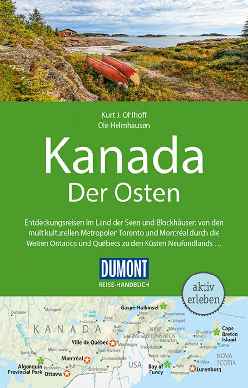 Cover-Bild DuMont Reise-Handbuch Reiseführer Kanada, Der Osten