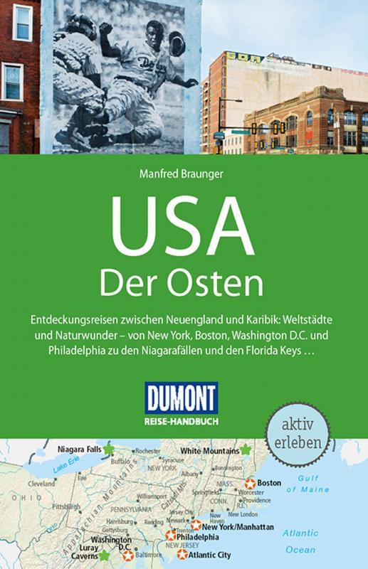 Cover-Bild DuMont Reise-Handbuch Reiseführer USA, Der Osten