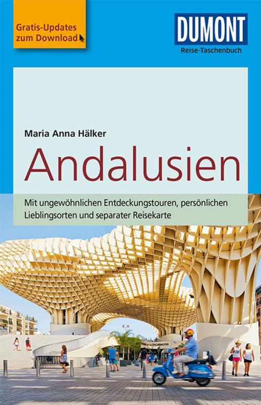 Cover-Bild DuMont Reise-Taschenbuch Reiseführer Andalusien