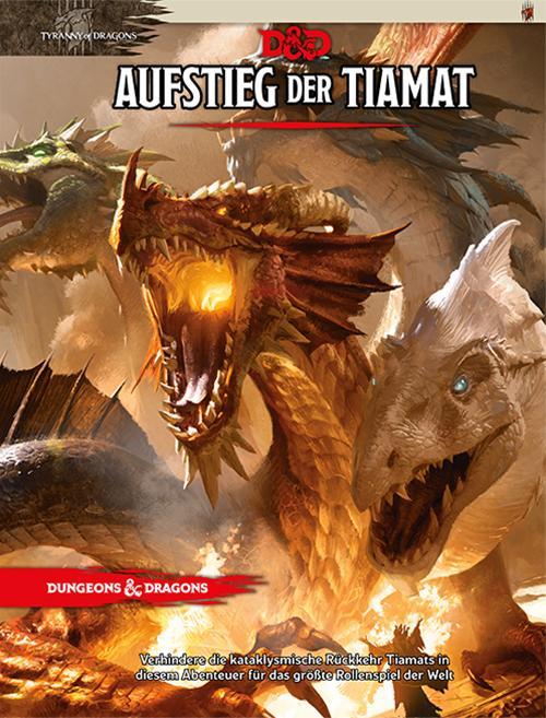 Cover-Bild D&D: Aufstieg der Tiamat