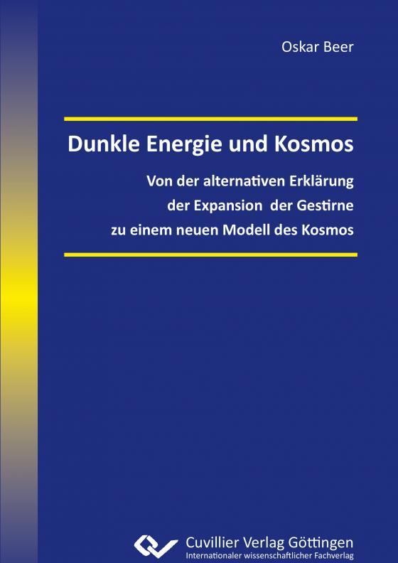 Cover-Bild Dunkle Energie und Kosmos
