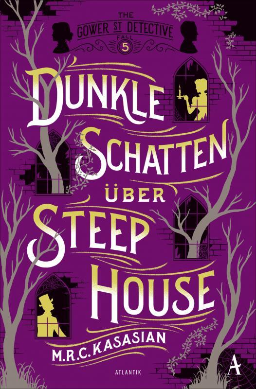 Cover-Bild Dunkle Schatten über Steep House