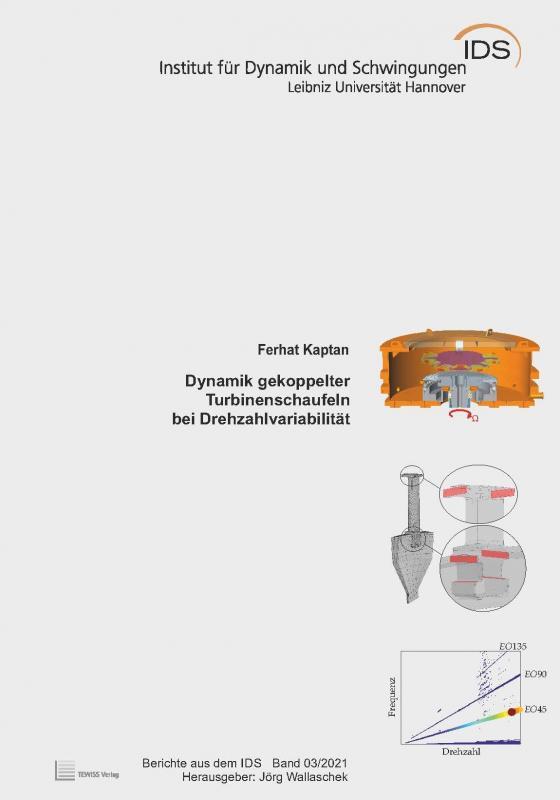 Cover-Bild Dynamik gekoppelter Turbinenschaufeln bei Drehzahlvariabilität
