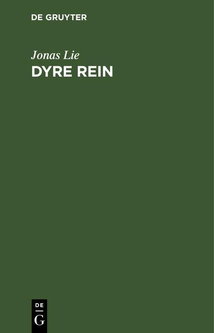 Cover-Bild Dyre Rein