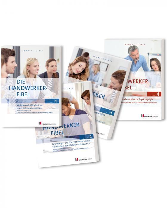 """Cover-Bild E-Book """"Die Handwerker-Fibel"""", Bände 1 bis 4"""