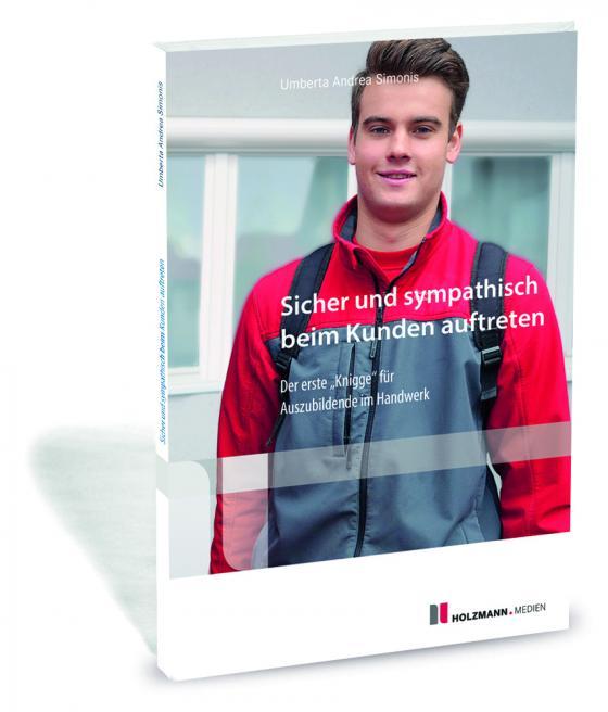 """Cover-Bild E-Book """"Sicher und sympathisch beim Kunden auftreten"""""""