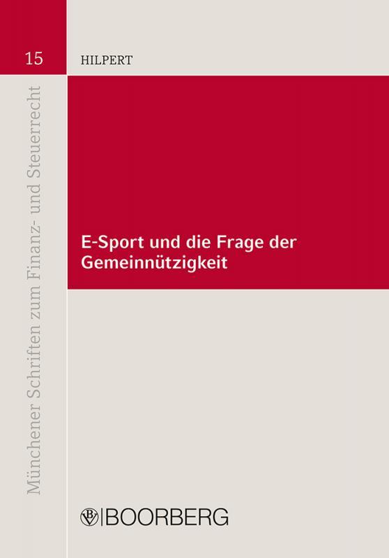 Cover-Bild E-Sport und die Frage der Gemeinnützigkeit