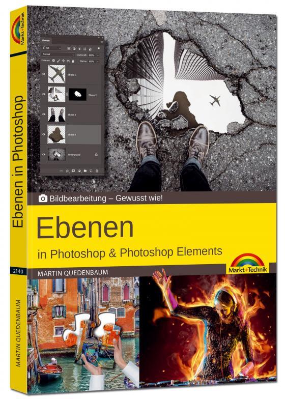 Cover-Bild Ebenen in Adobe Photoshop CC und Photoshop Elements - Gewusst wie