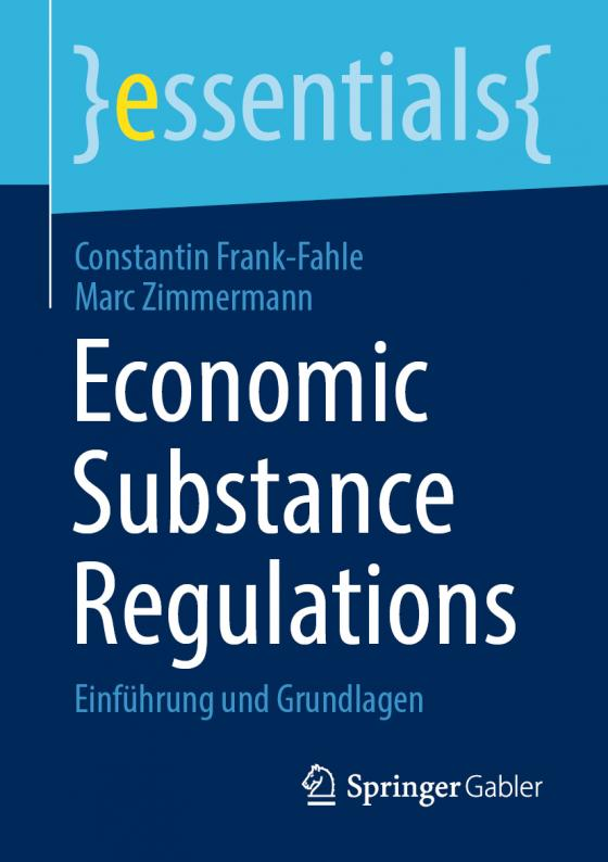 Cover-Bild Economic Substance Regulations