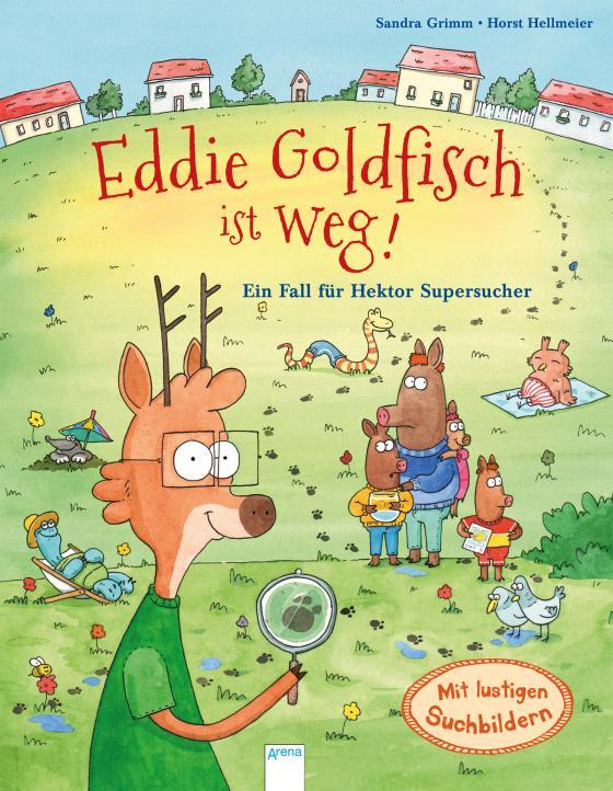 Cover-Bild Eddie Goldfisch ist weg! Ein Fall für Hektor Supersucher