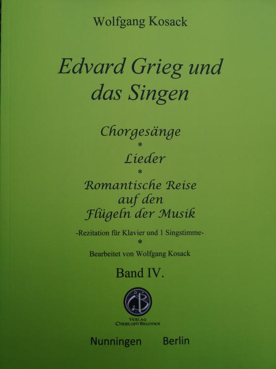 Cover-Bild Edvard Grieg und das Singen