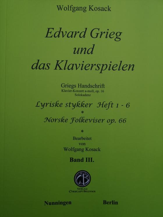 Cover-Bild Edvard und das Klavierspielen Band III.