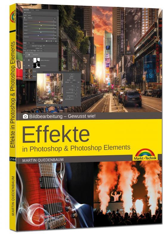 Cover-Bild Effekte in Adobe Photoshop CC und Photoshop Elements - Gewusst wie