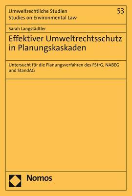 Cover-Bild Effektiver Umweltrechtsschutz in Planungskaskaden