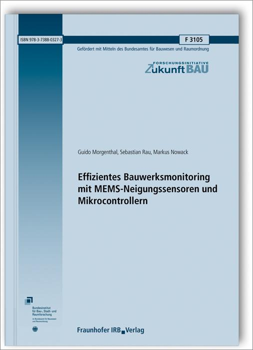 Cover-Bild Effizientes Bauwerksmonitoring mit MEMS-Neigungssensoren und Mikrocontrollern.