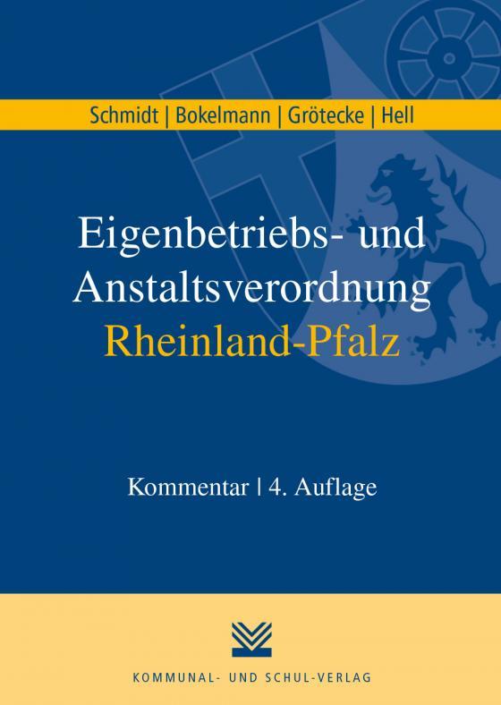 Cover-Bild Eigenbetriebs- und Anstaltsverordnung Rheinland-Pfalz