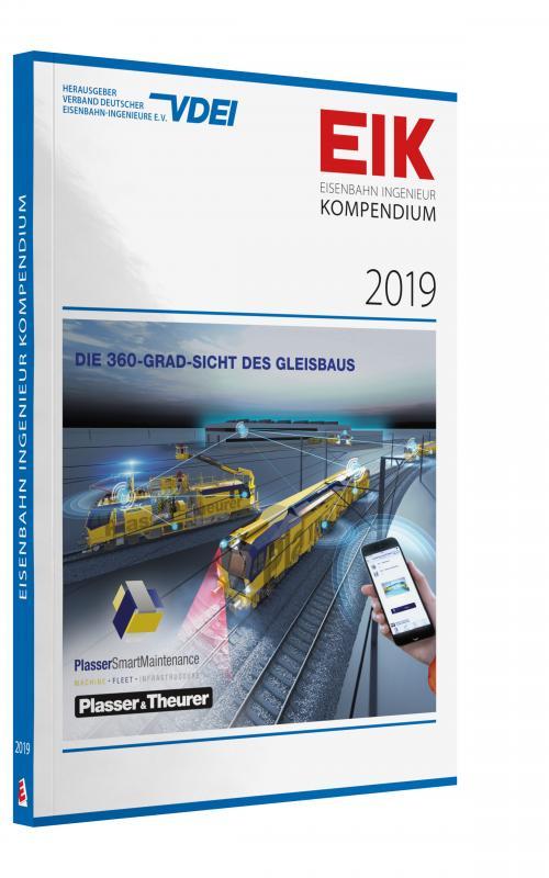 Cover-Bild EIK 2019 - Eisenbahn Ingenieur Kompendium