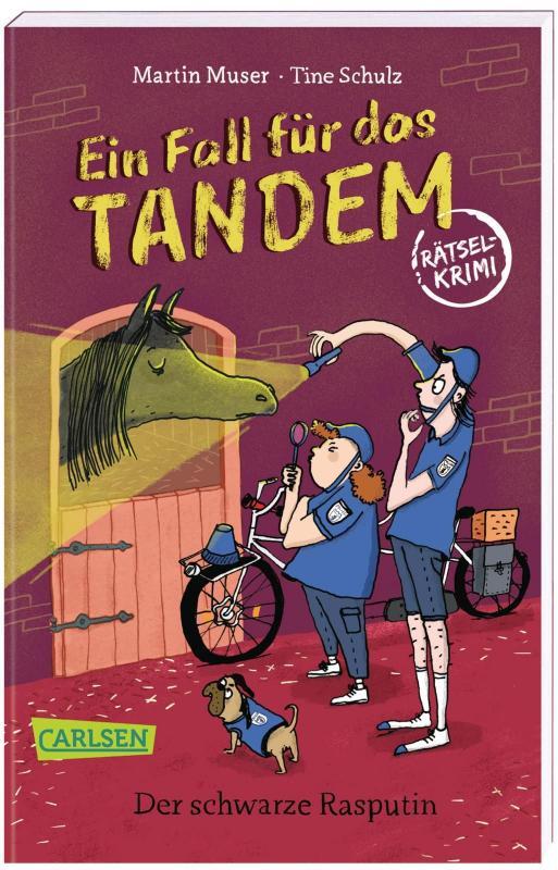 Cover-Bild Ein Fall für das Tandem: Der schwarze Rasputin, Rätselkrimi ab 9 Jahren (Detektivgeschichte mit Wimmel-, Such- und Denkrätseln zum Knobeln und Lösen des Falls)